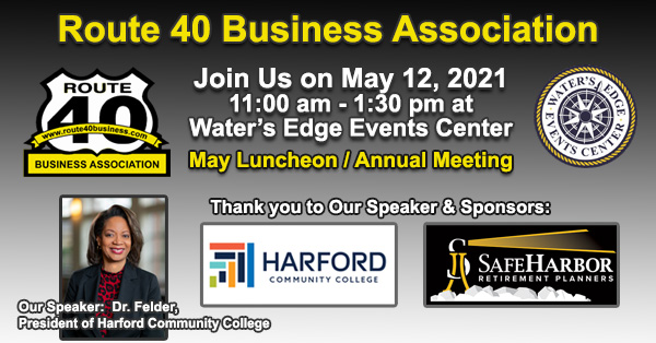 Rt 40 Business Association May Luncheon and Annual Meeting
