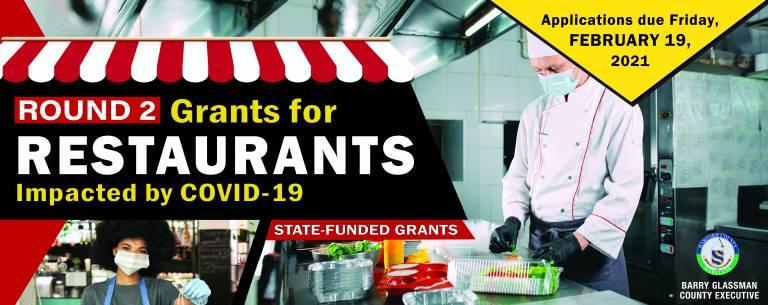 State Restaurant Grant Funding Round 2