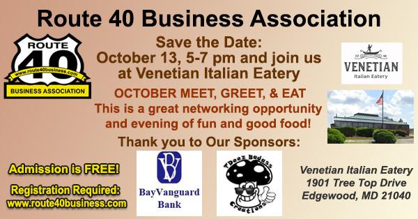 October 2021 Meet, Greet, and Eat at Venetian Italian Eatery on October 13, 2021